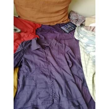 Vêtements Femme Chemises / Chemisiers Et Compagnie Joli chemisier ou tunique violet Violet