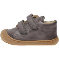 Chaussures Baskets mode Naturino COCOON VL-petites chaussures premiers pas en cuir nappa gris