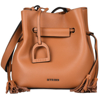 Sacs Femme Sacs porté main Etrier Sac bourse Blazer cuir BLAZER 709-EBLA004S CAMEL