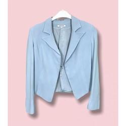 Vêtements Femme Vestes / Blazers Georges Rech Georges Rech - Blazer en Soie T. 38 Bleu