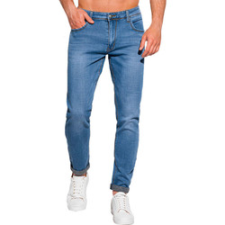 Vêtements Homme Jeans slim Monsieurmode Jean tendance pour homme Jean 1101 bleu Bleu
