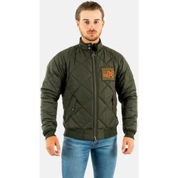 Vêtements Homme Blousons Barbour intl quilted merchant gn91 sage vert