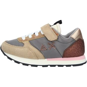 Chaussures Fille Baskets basses Sun68 Z41410 BASKETS enfant GRIS MOYEN GRIS MOYEN