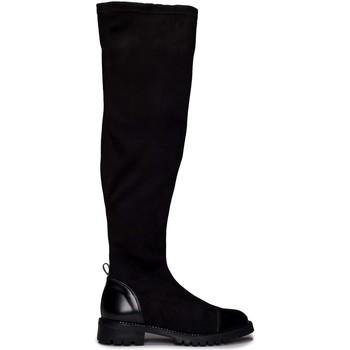 Chaussures Femme Cuissardes Nae Vegan Shoes Paris_Black Noir