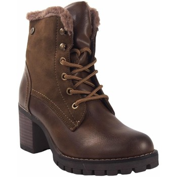 Chaussures Femme Boots Deity Booty lady  20063 yqb terre Marron