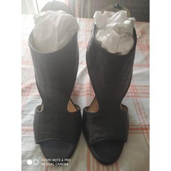 Chaussures Femme Sandales et Nu-pieds Gianni Gregori Sandales Gianni Grégory Noir