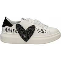 Chaussures Femme Baskets mode Gio + + CUORE NERO bianco