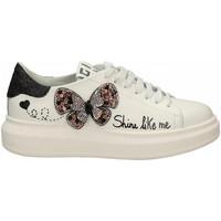 Chaussures Femme Baskets mode Gio + + FARFALLA bianco