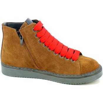Chaussures Femme Baskets montantes Wave 1105.02_36 Marron