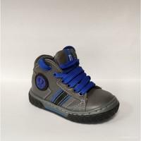 Chaussures Garçon Baskets montantes Melania Polacco Lacci Maschio Grigio Gris