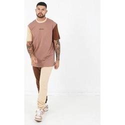 Vêtements Homme T-shirts manches courtes Sixth June T-shirt  Tricolor Regular beige