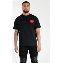 Vêtements Homme T-shirts manches courtes Sixth June T-shirt  Oversize noir