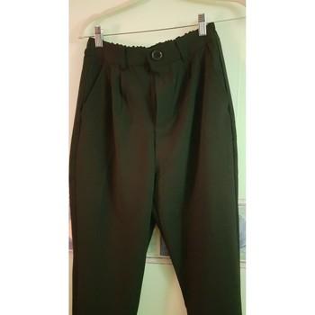 Vêtements Femme Pantalons de costume Bershka Pantalon large Noir