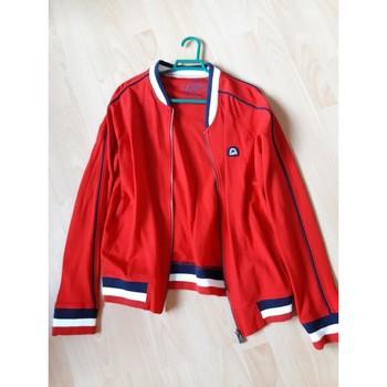 Vêtements Femme Blousons Camps United Veste teddy Rouge
