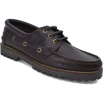Chaussures Femme Chaussures bateau Seajure Chaussures Bateau Reynisfjara Marron