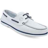 Chaussures Femme Chaussures bateau Seajure Chaussures Bateau Sauvage Blanc
