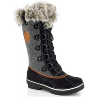 Chaussures Femme Bottes de neige Kimberfeel SISSI Grisanthracite