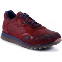 Chaussures Homme Baskets mode Exton BASKETS  - 340 ROUGE rouge