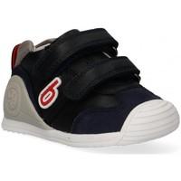 Chaussures Fille Baskets basses Biomecanics 57347 bleu