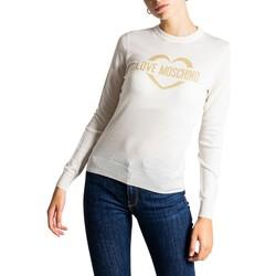 Vêtements Femme Pulls Love Moschino WS87G10X1376 blanc