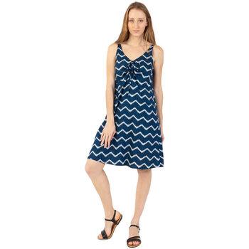 Vêtements Femme Robes courtes Coton Du Monde Clara Bleu