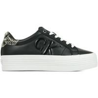 Chaussures Femme Baskets basses Calvin Klein Jeans Vulcanized Flatform noir