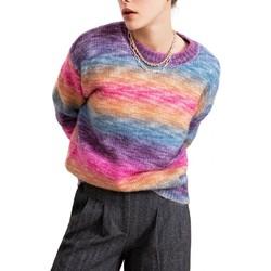Vêtements Femme Pulls Suncoo Chandail Polydor Rose Multicolore
