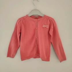 Vêtements Fille Gilets / Cardigans Boîte à Malices Gilet fantaisie 2ans Rose