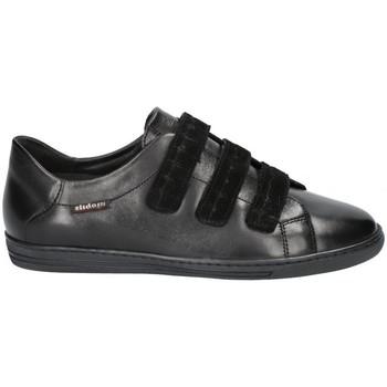 Chaussures Femme Derbies Mephisto Baskets cuir HELOISE Noir