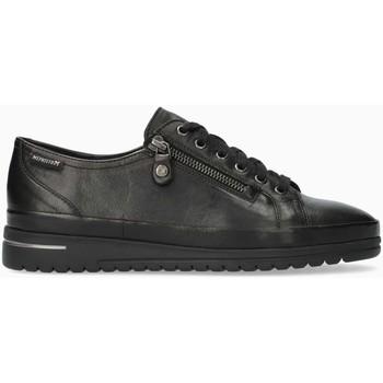 Chaussures Femme Baskets mode Mephisto Baskets cuir JUNE Noir