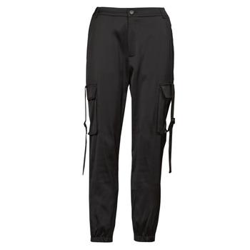 Vêtements Femme Pantalons cargo Yurban  Noir