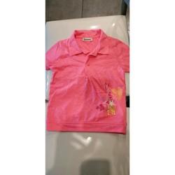 Vêtements Fille Polos manches courtes Alphabet Polo Alphabet Fille 6 ans Rose