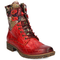 Chaussures Femme Bottes Laura Vita Gacmayo 217 Rouge