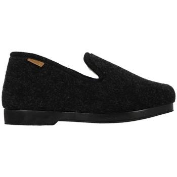 Chaussures Homme Chaussons La Maison De L'espadrille 76024 Noir