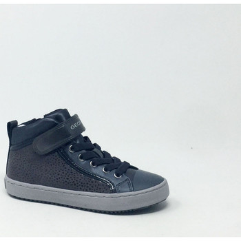 Chaussures Fille Baskets montantes Geox KALISPERA FILLE SNEAKERS GRIS Gris
