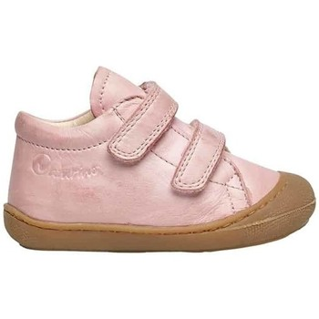 Chaussures Baskets mode Naturino COCOON VL-petites chaussures premiers pas en cuir nappa rose