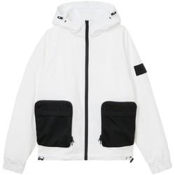 Vêtements Homme Vestes Calvin Klein Jeans Veste à capuche  ref 54237 YAF Blanc Blanc