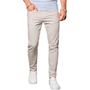 Vêtements Homme Chinos / Carrots Monsieurmode Pantalon chino homme Pantalon 990 beige Beige