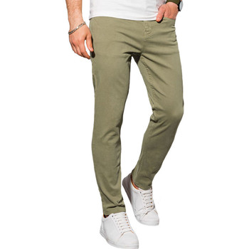 Vêtements Homme Chinos / Carrots Monsieurmode Pantalon chino pour homme Pantalon 990 vert Vert