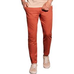 Vêtements Homme Chinos / Carrots Monsieurmode Pantalon chino homme Pantalon 894 rouge brique Rouge