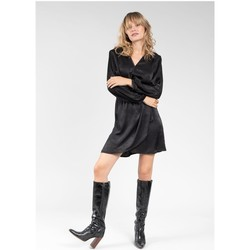 Vêtements Femme Robes courtes Deeluxe Robe LORALIE Black