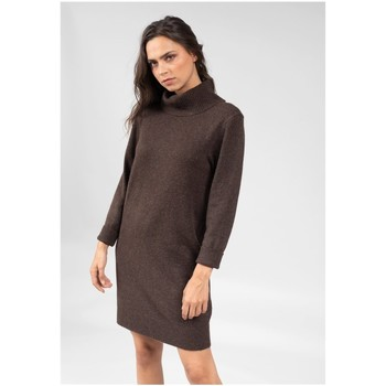 Vêtements Femme Robes courtes Deeluxe Robe MILA Capuccino Mel