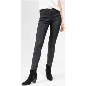 Vêtements Femme Pantalons 5 poches Deeluxe Pantalon LYZIE Black