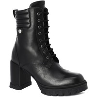 Chaussures Femme Bottines Karl Lagerfeld Leather Ankle Boots Black