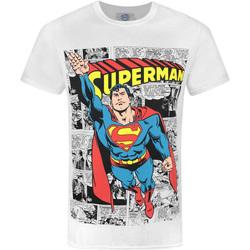 Vêtements Homme T-shirts manches courtes Dessins Animés  Blanc