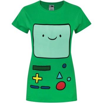 Vêtements Femme T-shirts manches courtes Adventure Time  Vert