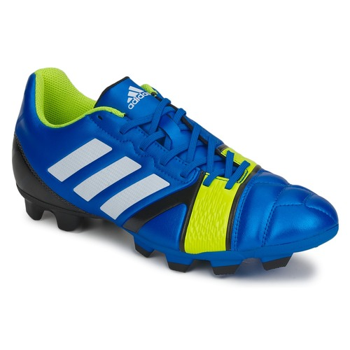 Chaussures Homme Football adidas Performance NITROCHARGE 3.0 TRX FG BLUE BEAUTY F10-RUNNING WHITE FTW-ELECTRICITY