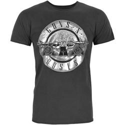 Vêtements Homme T-shirts manches courtes Amplified  Charbon / argenté