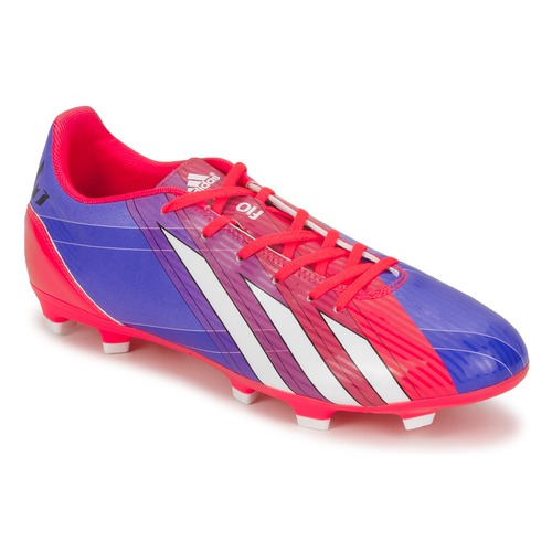 Chaussures Homme Football adidas Performance F10 TRX FG Bleu / Blanc / Rouge