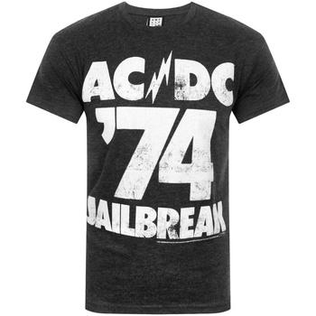 Vêtements Homme T-shirts manches courtes Amplified  Noir